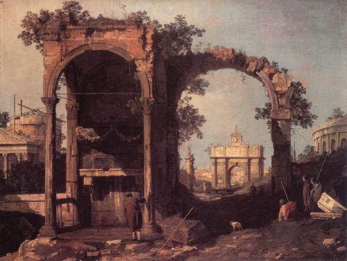 Canaletto Capriccio