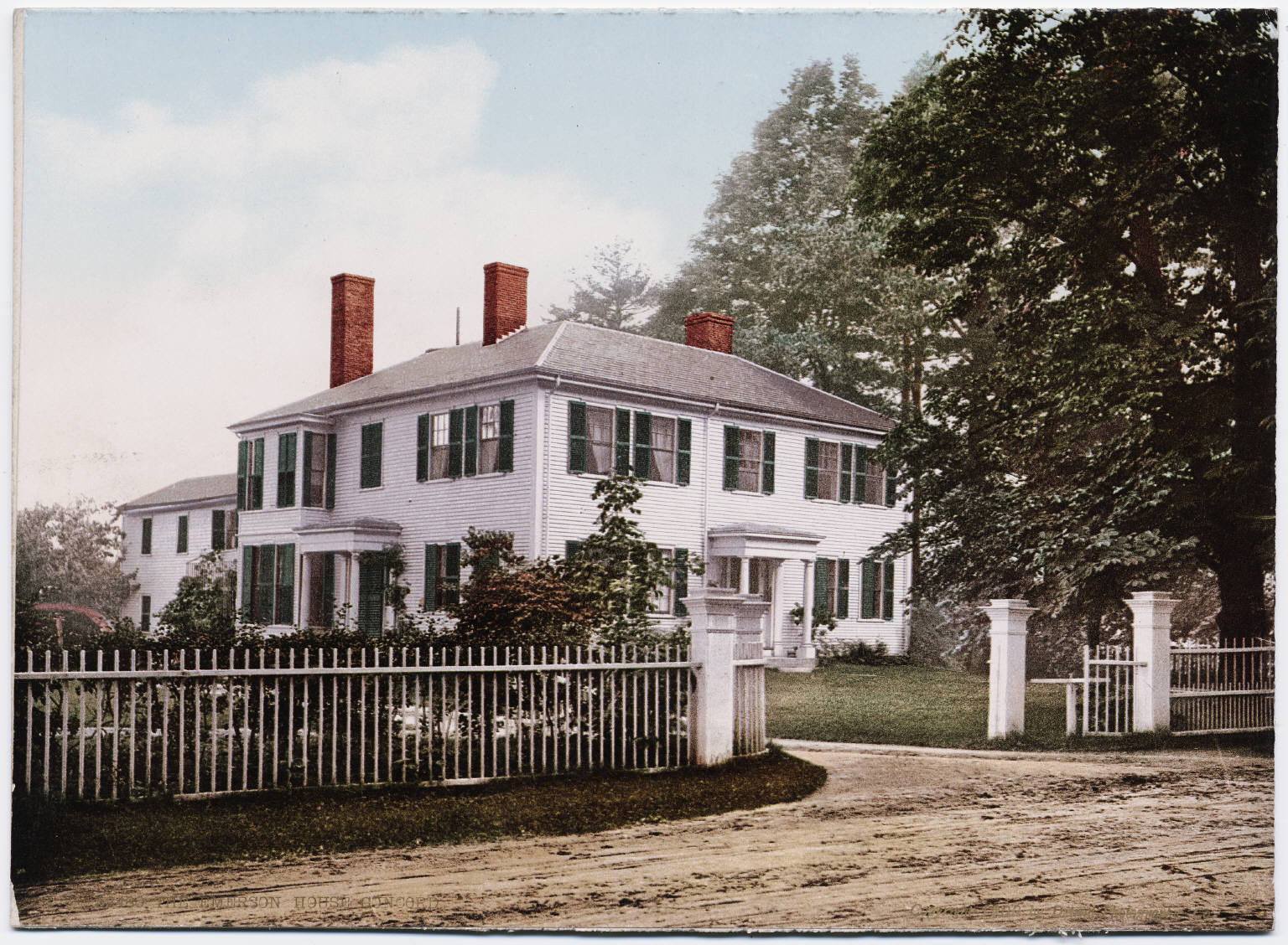 The Emerson House Concord Massachusetts Jan Olof Bengtsson