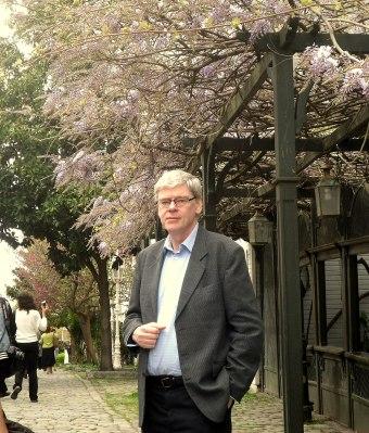 Ljungberg i vårblommande Istanbul.