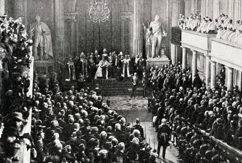 Riksdagens öppnande 1898