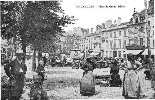 Place du Grand Sablon Bruxelles