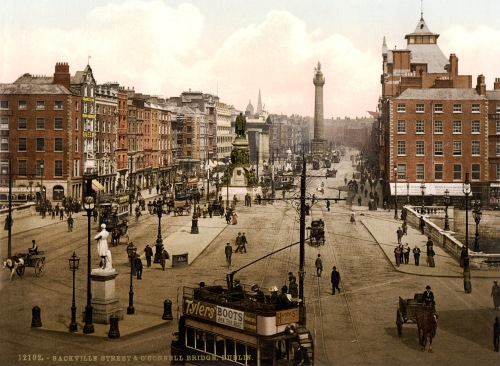 Sackville Street O'Connell Bridge Dublin