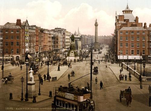 Sackville Street O'Connell Bridge Dublin