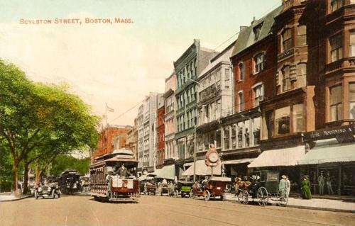 Boylston Street Boston