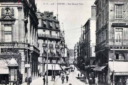 Rue Grand-Pont Rouen